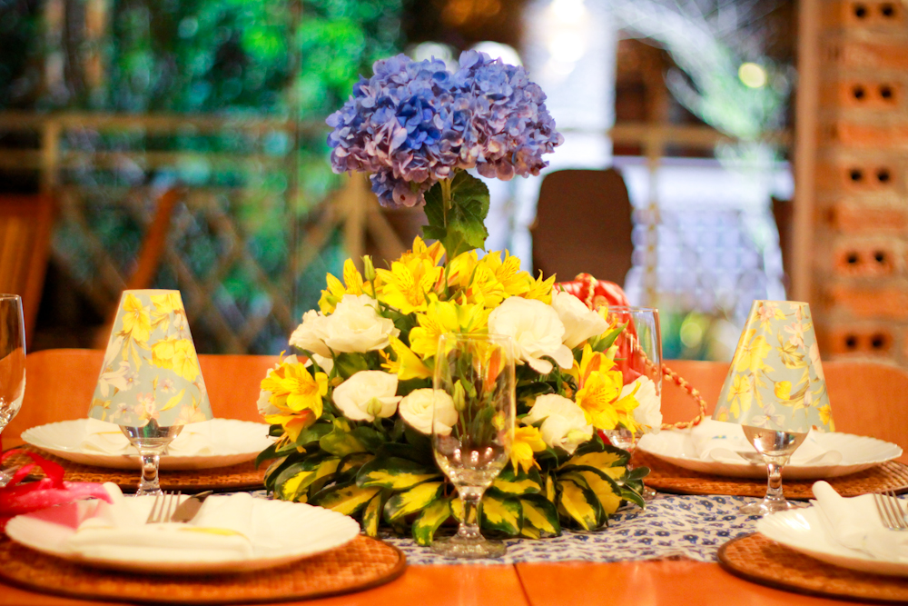 decoracao festa surpresa:Festa Surpresa da Mamy – Decoração das mesas